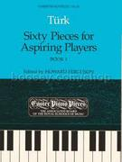 Turk, Daniel Gottlob; Sixty Pieces for Aspiring Players: Easier Piano Pieces No. 70, Book 1