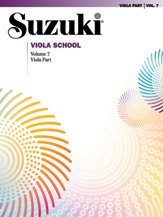 Suzuki, Shinichi; Viola School - Viola Part, Vol. 7 - SALE!
