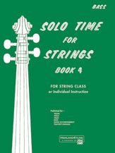 Etling, Forest; Solo Time for Strings, Book 4 - SALE!