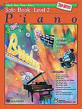 Alfred's Basic Piano Library: Solo Book - Top Hits!, Level 2