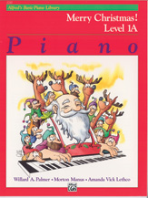 Alfred's Basic Piano Library: Merry Christmas!, Level 1A - SALE!