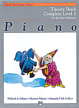 Palmer, Manus & Lethco; Alfred's Basic Piano Library: Theory Book for the Later Beginner, Complete Level 1 - SALE!