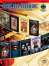 Great Movie Instrumental Solos for Viola and Piano (w/CD), Level 2-3 - SALE!