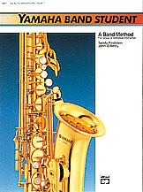 Yamaha Band Student - A Band Method, alto sax