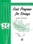 Applebaum, Samuel; Belwin Course for Strings: First Program for Strings - Viola