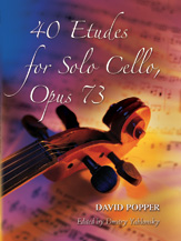 Popper, David; 40 Etudes for Solo Cello (High School of Cello Playing), Op. 73 - SALE!