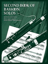 The Second Book of Bassoon Solos for Bassoon and Piano - SALE!