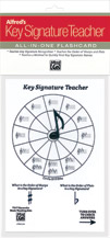 Alfred's Key Signature Teacher - All-in-one Flashcard (White)