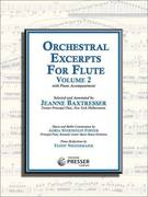 Orchestral Excerpts for Flute with Piano Accompaniment, Volume 2 - NEW!