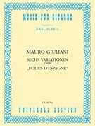 Giuliani, Mauro; Six Variations on