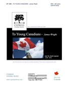 Wright, James; To Young Canadians (SSA)