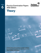 RCM 2016 Practice Exam Papers -  Level 6 Theory (formerly Intermediate Rudiments)