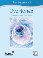 Overtones: A Comprehensive Flute Series - Flute Repertoire (w/CD), Level 4