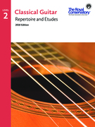 RCM Classical Guitar: Repertoire and Etudes, Level 2