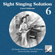 Schlosar, Carol; Sight Singing Solution (CD), Grade 6 - SALE!