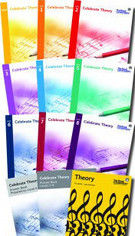 RCM Celebrate Theory: Elementary-Intermediate Set, Levels Prep - 8 - SALE!