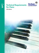 -; RCM Technical Requirements for Piano (2015 Edition), Level 5