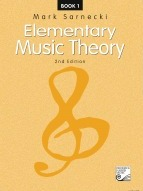 Sarnecki, Mark; Elementary Music Theory, 2nd Edition, Book 1