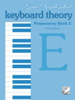 Vandendool, Grace; Keyboard Theory Preparatory Series, 2nd Edition, Book E