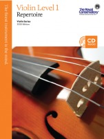 RCM Violin Repertoire (w/CD), Level 1