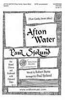 Afton Water (No. 1 from Scottish Folk Song Suite) (SATB) [arranged by Sjolund, Paul]