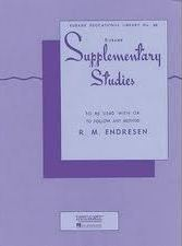 Endresen, Raymond Milford; Rubank Supplementary Studies for E-flat or BB-flat Bass Tuba