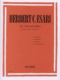 Herbert-Caesari; 50 Vocalises (Vowelisation Exercises)
