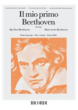 Beethoven, Ludwig van; My First Beethoven for piano: The Classics for Young Pianists (Il mio primo Beethoven), Vol. 1 [arranged by Pozzoli, Ettore] - SALE!