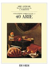 40 Arie Antiche (Ancient Airs) for Voice and Piano, Vol. 3
