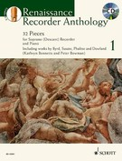 Renaissance Recorder Anthology: 32 Pieces For Soprano Recorder and Piano (w/CD), Vol. 1 - NEW!