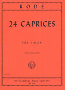 Rode, Pierre; 24 Caprices for Violin