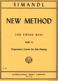 Simandl, Franz; New Method for String Bass: Preparatory Course for Solo Playing, Part 2 - SALE!