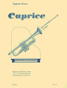 Bozza, Eugene; Caprice for Trumpet in C or B-flat and Piano, Op. 47 - SALE!