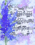 Cards - Lilacs Over Music