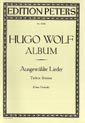 Wolf, Hugo; 51 Selected Songs for Low Voice and Piano