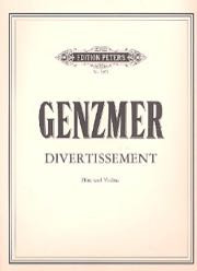 Genzmer, Harald; Divertissement for Flute and Violin - SALE!