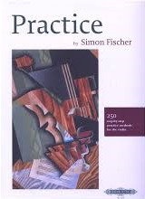 Fischer, Simon; Practice: 250 Step-by-Step Practice Methods for Violin - SALE!