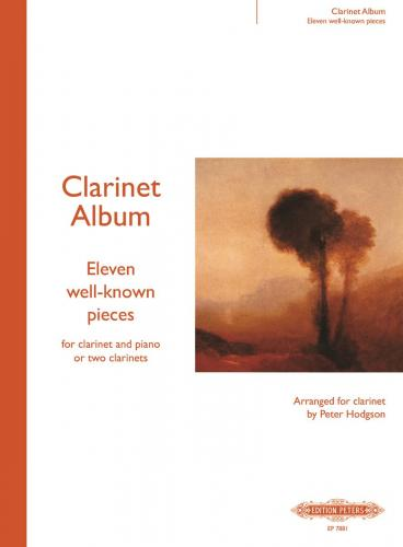 -; Clarinet Album: Eleven well-known pieces for clarinet and piano or 2 clarinets