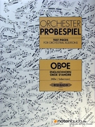 Orchester Probespiel - Test Pieces for Orchestral Auditions - (oboe) - SALE!