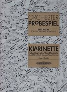 Orchester Probespiel - Test Pieces for Orchestral Auditions - (clarinet) - SALE!
