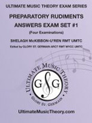 McKibbon-U'Ren, Shelagh; Ultimate Music Theory Exam Series: Preparatory Rudiments Answer Book, Set 1