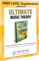St. Germain, Glory; Ultimate Music Theory - Supplemental Answer Book, Preparatory Level