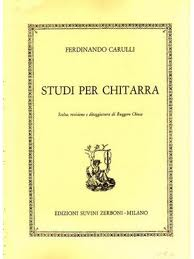 Carulli, Ferdinando; Studi Per Chitarra (Studies for Guitar) - SALE!