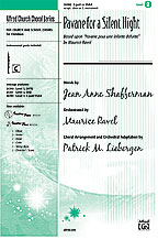 """Ravel, Maurice; Pavane for a Silent Night (based on """"Pavane pour une infante defunte"""" by Ravel) (2-part) [arranged by Liebergen, Patrick M.]"""