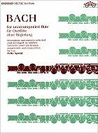 Bach,  Johann Sebastian; Bach for Unaccompanied Flute: Seventeen  Movements Selected and Arranged as Studies